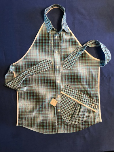 Repurposed Shirt Apron