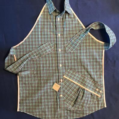 Repurposed Shirt Apron
