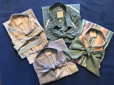 Repurposed Shirt Aprons