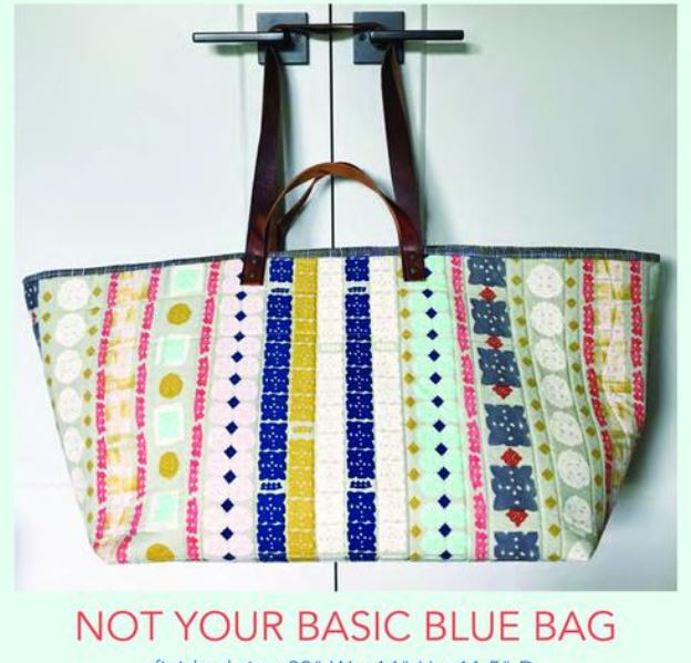 Not Your Basic Blue Bag