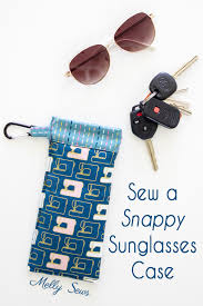 Sew a Sunglasses Case - Melly Sews