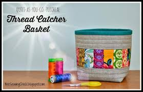 The Sewing Chick | Tutorial — Quilt-as-you-go Thread Catcher